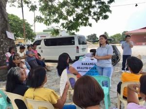 Barangay Health Club at Brgy Aringin and Atencio, Moncada, Tarlac (3)