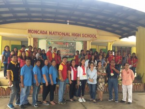Blessing & Inauguration of  Speech Laboratory at Moncada National High School