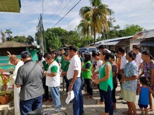 Blessing and Inauguration of the New Capaoayan Barangay Health Station  (2)