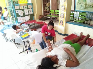 Community Based Mass Blood Donation and Syphilis Testing for pregnant women at Brgy. Banaoang East, Moncada, Tarlac (1)