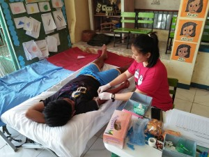 Community Based Mass Blood Donation and Syphilis Testing for pregnant women at Brgy. Banaoang East, Moncada, Tarlac (2)