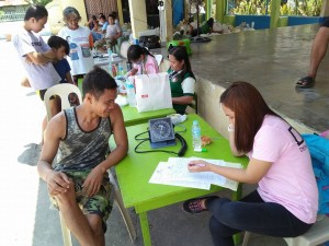 Community Based Mass Blood Donation and Syphilis Testing for pregnant women at Brgy. Banaoang East, Moncada, Tarlac (6)