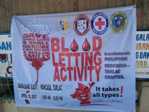 Community Based Mass Blood Donation and Syphilis Testing for pregnant women at Brgy. Banaoang East, Moncada, Tarlac (9)