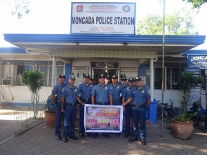 Conducted Earthquake drill inside Moncada Police Station (1)