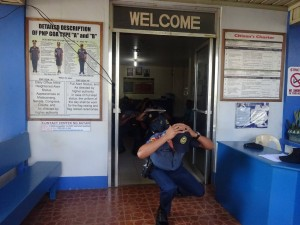 Conducted Earthquake drill inside Moncada Police Station (2)