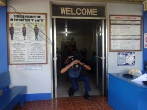 Conducted Earthquake drill inside Moncada Police Station (3)