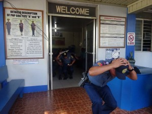 Conducted Earthquake drill inside Moncada Police Station (4)