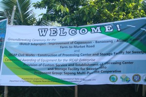 Ground Breaking Ceremony for the IBUILD Subproject - Moncada Tarlac (2)