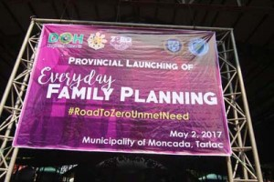 Launching of Everyday Family Planning initiative - Moncada Tarlac (1)