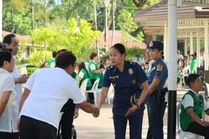 TURN OVER CEREMONY PNP CHIEF OF POLICE - Moncada Tarlac (2)