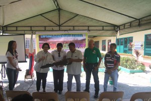 Turn over of One (10) classroom school building @ Lapsing Elementary School March 17, 2017
