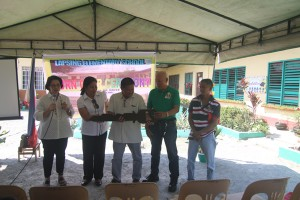 Turn over of One (11) classroom school building @ Lapsing Elementary School March 17, 2017