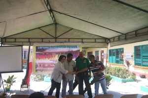 Turn over of One (12) classroom school building @ Lapsing Elementary School March 17, 2017