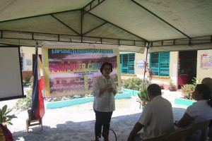 Turn over of One (13) classroom school building @ Lapsing Elementary School March 17, 2017