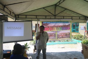 Turn over of One (14) classroom school building @ Lapsing Elementary School March 17, 2017