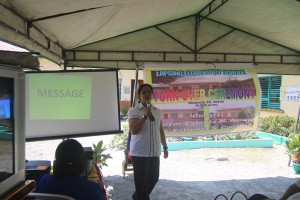 Turn over of One (16) classroom school building @ Lapsing Elementary School March 17, 2017