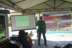 Turn over of One (17) classroom school building @ Lapsing Elementary School March 17, 2017