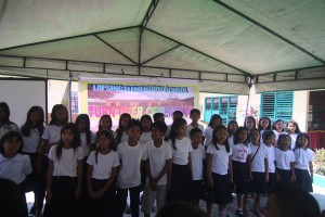 Turn over of One (18) classroom school building @ Lapsing Elementary School March 17, 2017
