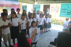 Turn over of One (19) classroom school building @ Lapsing Elementary School March 17, 2017