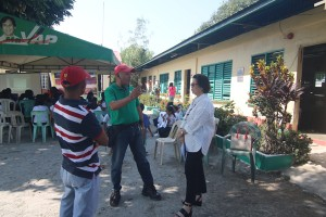 Turn over of One (2) classroom school building @ Lapsing Elementary School March 17, 2017