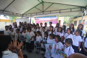 Turn over of One (22) classroom school building @ Lapsing Elementary School March 17, 2017