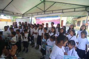 Turn over of One (23) classroom school building @ Lapsing Elementary School March 17, 2017