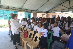 Turn over of One (6) classroom school building @ Lapsing Elementary School March 17, 2017