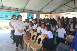 Turn over of One (7) classroom school building @ Lapsing Elementary School March 17, 2017