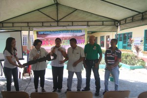 Turn over of One (9) classroom school building @ Lapsing Elementary School March 17, 2017