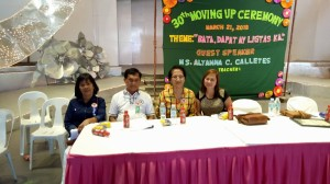 30th Moving Up Ceremony  Day Care Children - Cluster 1 March 21, 2018