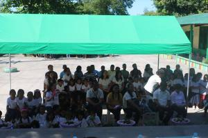 Blessing and Turn-over of one classroom school building_Evacuation Center @ San Julian Elementary School.
