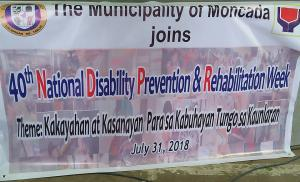 Celebration of National Disability Prevention and Rehabilitation Week