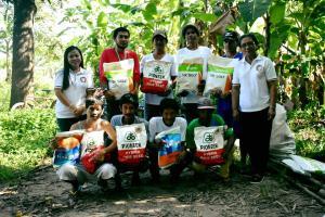 Distribution of Rehab Seeds for RCM Hybrid Rice Model Farm at San Julian Moncada, Tarlac
