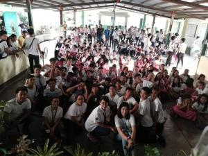 San Julian Sta Maria High School Adolescent Reproductive Health Seminar