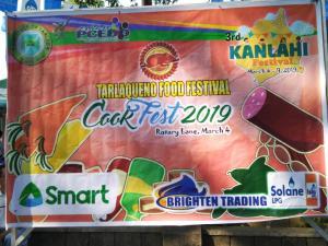 Tarlaqueno Food Festival Cook Fest 2019