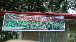 Blessing & Inauguration of Newly Renovated MSWDO Building